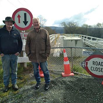 Bridge closures divide rural communities